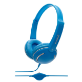 Groov-e Streetz Stereo Headphones Blue with Volume Control GV-897-BE